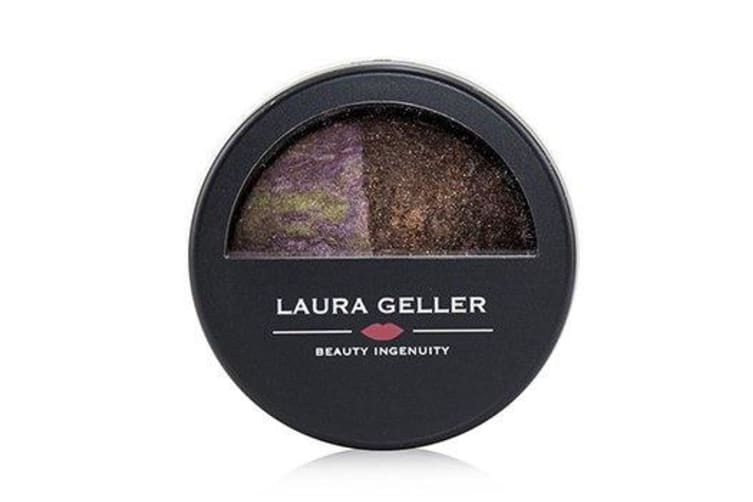 Laura Geller Baked Marble Shadow Duo - # Pink Icing/Devil's Food 1.8g/0.06oz