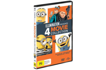 Illumination Presents 4 Movie Collection