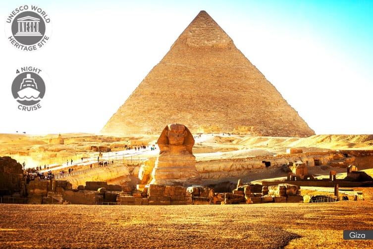 EGYPT: 10 Day Cairo & Nile Cruise Tour for Two