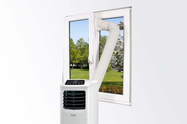 Portable Air Conditioner Outlets Seal for Hinged Windows