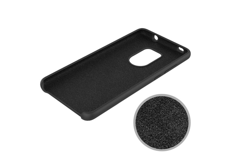 Huawei Mate 20 Silicone Case - Black