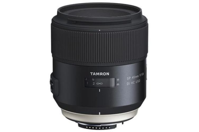 New Tamron SP 45mm F1.8 Di VC USD (F013) Lens for Nikon (FREE DELIVERY + 1 YEAR AU WARRANTY)