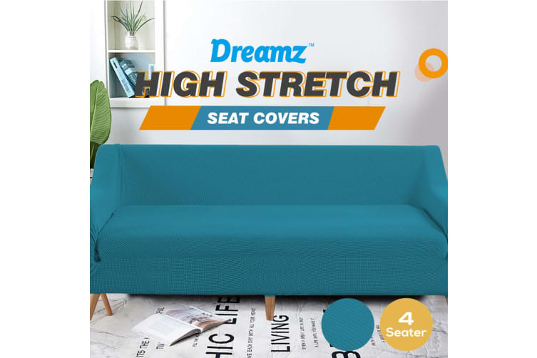 20%OFFDreamZ 4 Seater Sofa Cover Couch Covers Slipcover Recliner Protector Green