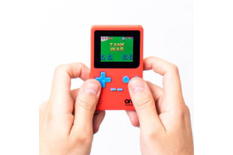 Stylish Retro Handheld LCD Console | 150+ 8 Bit-Games! | ThumbsUp!