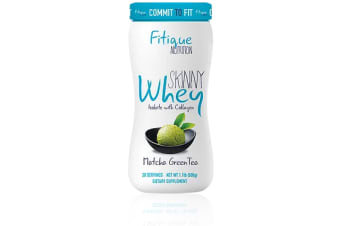 Fitique Nutrition - Skinny Whey Isolate with Collagen - Matcha Green Tea Flavour - 20 Servings