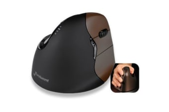 Evoluent VM4SW Vertical Mouse 4 - Small Wireless Right Hand aka VM4RSW