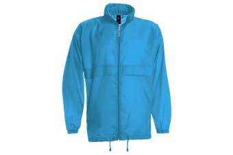 B&C Sirocco Mens Lightweight Jacket / Mens Outer Jackets (Atoll) (L)