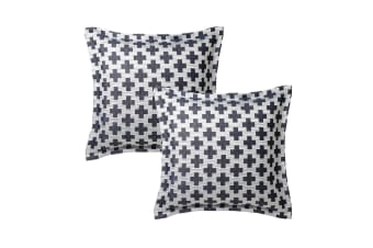 Pair of Ford Navy European Pillowcases by Platinum Collection