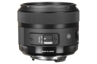 New Sigma 30mm f/1.4 DC HSM Art Lens Nikon Mount (FREE DELIVERY + 1 YEAR AU WARRANTY)