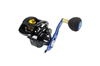 Abu Garcia Bluemax 3 Low Profile Baitcaster Fishing Reel-Right Handed Reel