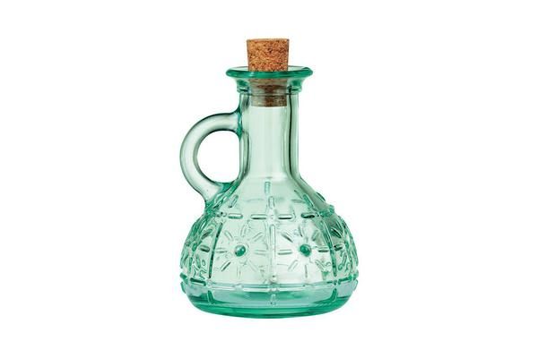 Bormioli Rocco Country Home Olivia Oil Bottle with Cork 220ml
