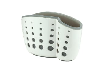 In Sink Aid Self Draining Caddy White Grey Kitchen Sponges Brush Soap