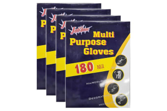 720pc Multi Purpose One Size Disposable Polyethylene Gloves f/ Cooking/Painting