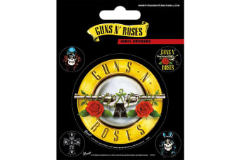 Guns N Roses Stickers (Multicoloured) (One Size)