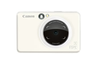 Canon INSPIC S Instant Camera with Smartphone Connectivity - Pearl White