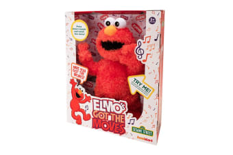 Sesame Street Elmo's Got The Moves