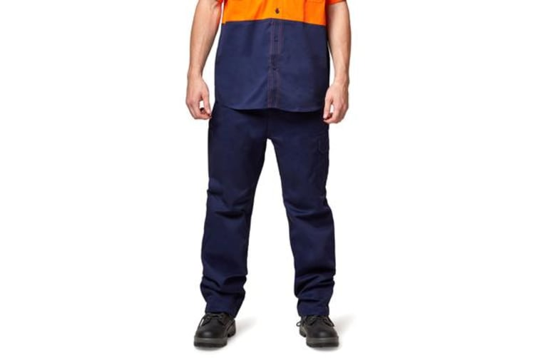 King Gee Cargo Drill Pant (Navy, Size 92R)
