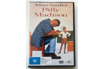 Billy Madison - Adam Sandler -Comedy Region 4 Rare- Aus Stock Preowned DVD Excellent Condition