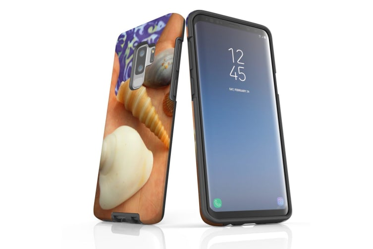 For Samsung Galaxy S9+ Plus Case Armour Cover  Palm of the Sea