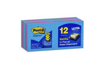 3M Post-It Pop Up Note Refill R330-AU Jaipur 76X76mm Pkt/12
