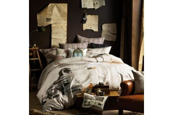 Nile Express Quilt Cover Set by Linen House - King