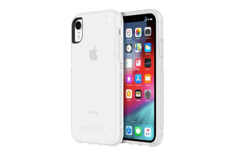 Griffin Survivor Strong Case for iPhone XR - Clear