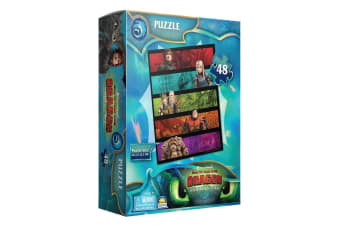 48pc Dreamworks How To Train Your Dragon Characters Puzzle Kids/Children 3y+ Toy