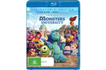 Monsters University (Collector's Edition) (2 Disc Blu-ray/Digital Copy Plus)