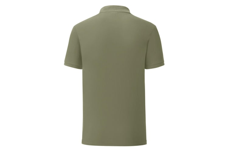 Fruit Of The Loom Mens Iconic Pique Polo Shirt (Classic Oliver Green) (3XL)