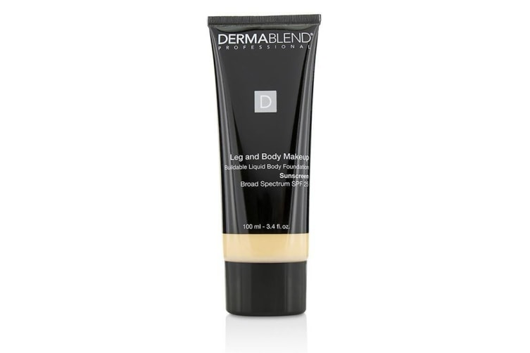 Dermablend Leg and Body Make Up Buildable Liquid Body Foundation Sunscreen Broad Spectrum SPF 25 - #Fair Nude 0N 100ml
