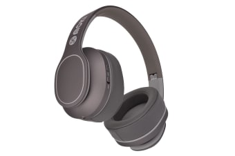 Moki Navigator Over Ear Noise Cancellation 89dB Volume Limited Headphones - Grey (ACCHPKNCGY)