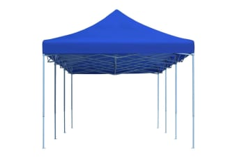 vidaXL Folding Pop-up Party Tent 3x9 m Blue