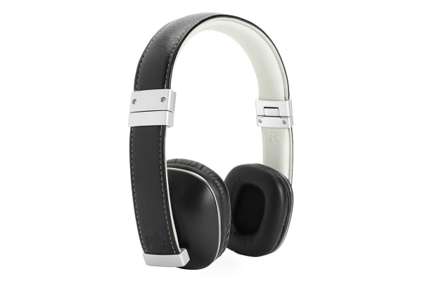 Polk Hinge On-Ear Headphones (Black/Silver)