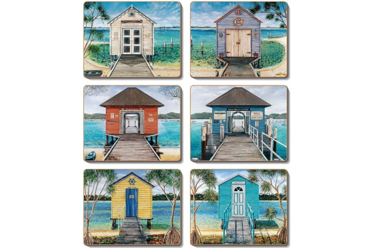 Cinnamon Placemats Cork Backed - Boathouse