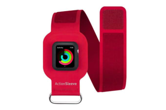 Twelve South ActionSleeve Armband for 38mm Apple Watch - Red