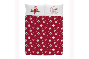 The Elf On The Shelf Official Joy Reversible Duvet (Multi-Colour)
