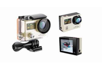 "1080P Full Hd Wifi Sports Action Camera 2"" Lcd Video G3 Gold"