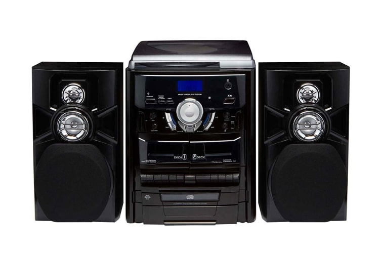 Lenoxx Mini Hi-Fi System with Turntable (CD7400N)