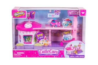 Cutie Cars Shopkins Drive Thru Diner