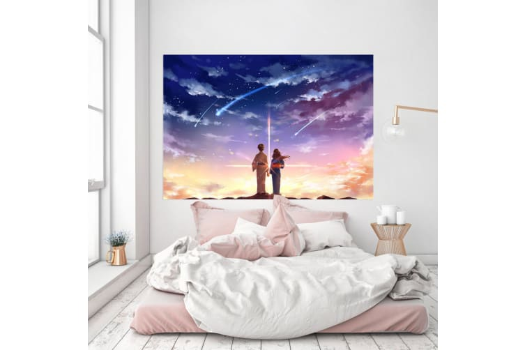 3D Your Name 293 Anime Wall Stickers Self-adhesive Vinyl, 110cm x 110cm(43.3'' x 43.3'') (WxH)