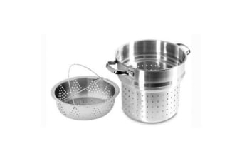 Scanpan 24cm Stainless Steel Classic Steam Pasta Insert & Steamer Basket Pot Set