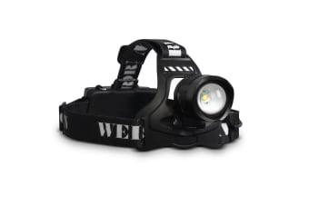 Set of 2 Five Mode LED Flash Torch Headlamp