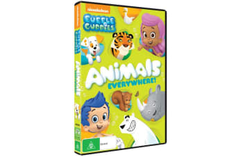 Bubble Guppies Animals Everywhere DVD Region 4