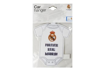 Real Madrid FC Kit Baby On Board Sign (White)