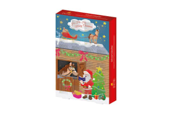 Lincoln Father Christmas Advent Calendar (Pack Of 6) (May Vary) (One Size)