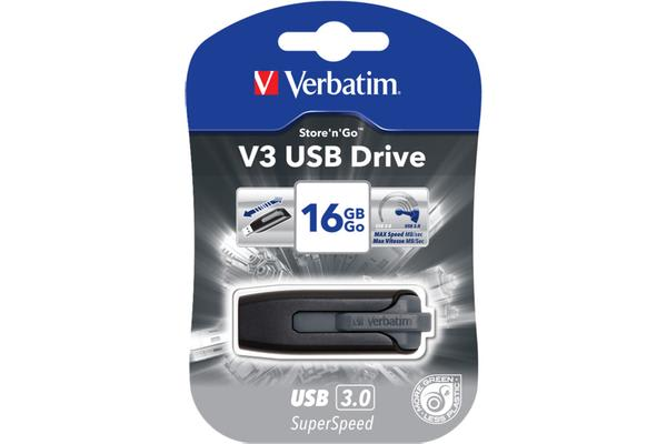 Verbatim 16Gb Usb 3.0 Flash Drive