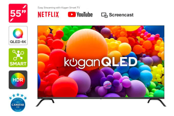 "Kogan QLED 55"" Smart HDR 4K TV (Series 8, RU8510)"