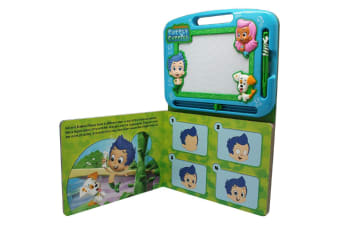 Bubble Guppies - Learning Book with Magnetic Drawing Pad
