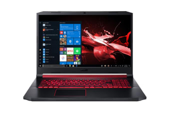 "Acer Nitro 5 17.3"" Core i7-9750H 16GB RAM 512GB SSD GeForce GTX 1650 W10H Gaming Laptop (NH.Q5CSA.001-C77)"