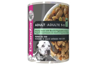 Eukanuba Adult Beef Vegetable Stew Cans - 12 Cans